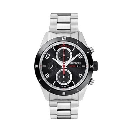 Montblanc Cronografo Automatico Timewalker Nero 43mm In Acciaio 116097