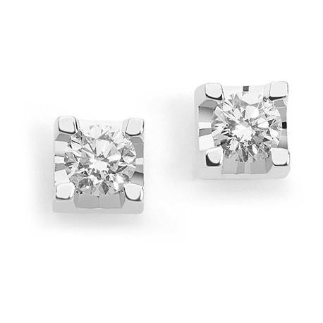 Orecchini Comete Gioielli Punti Luce In Oro Bianco Con Diamanti Orb 811