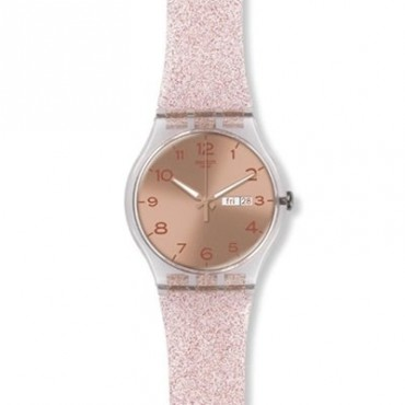 Orologio Swatch Core Collection Originals New Gentleman Pink Glistar 41mm Suok703