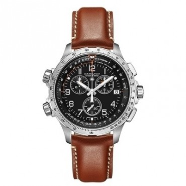 OROLOGIO UOMO Hamilton Cronografo Khaki Aviation X-Wind 46mm H77912535