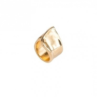 Anello Da Donna Unode50 The Crevice Placcato In Oro Ani0248oro000xl