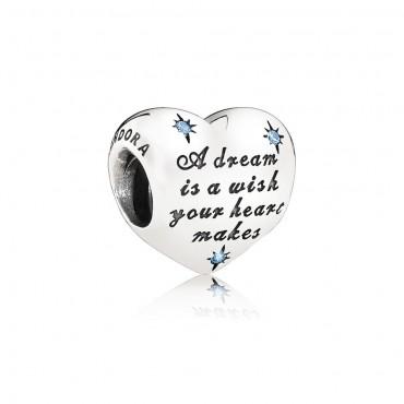 Pandora Disney Charm Il Sogno di Cenerentola con Zirconi