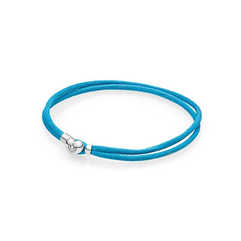pandora bracciale azzurro