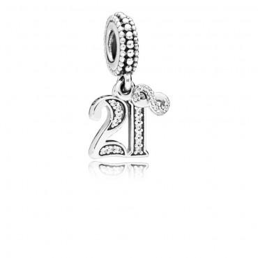 Charm Pandora 21 anni d'amore