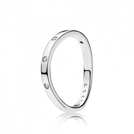 pandora anello argento