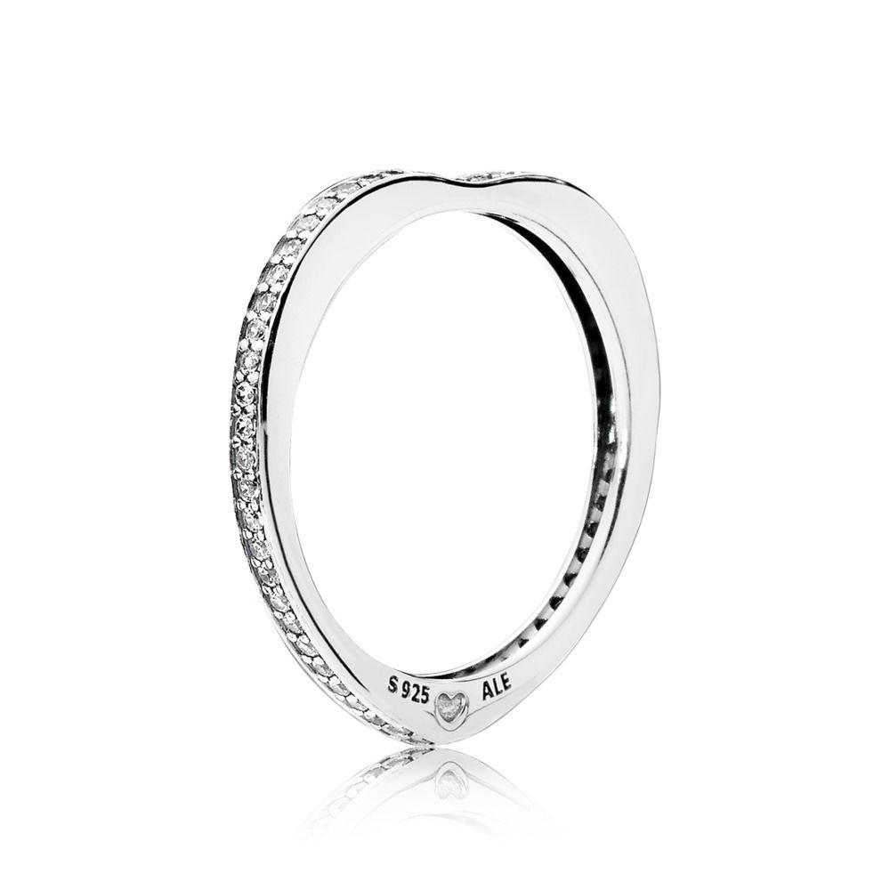 pandora anello cuori d'amore