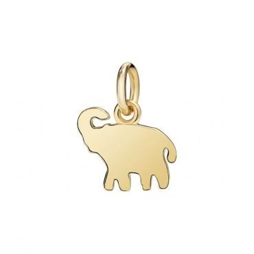 Elefante Ciondolo in Oro Giallo 18kt