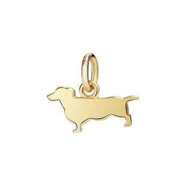 Bassotto Ciondolo in Oro Giallo 18kt