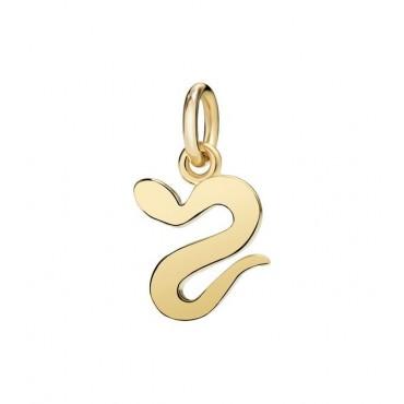 Serpente Ciondolo in Oro Giallo 18kt