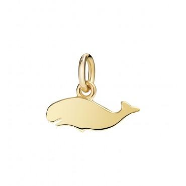 Balena Ciondolo in Oro Giallo 18kt