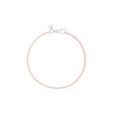 Bracciale in Argento laccato Rosa Pastello - DoDo
