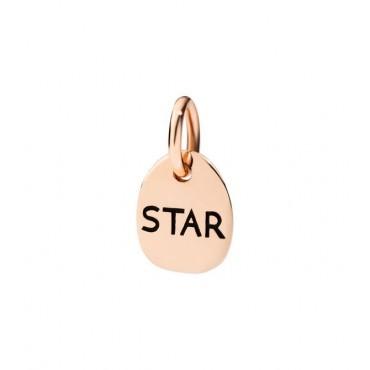 Star Ciondolo in Oro Rosa 9kt - DoDo