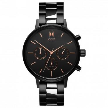 Cronografo Donna MVMT Crux al Quarzo Cinturino in Acciaio - FC01-BL