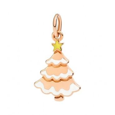 Albero di Natale DoDo in Oro Rosa 9Kt e Smalti colorati