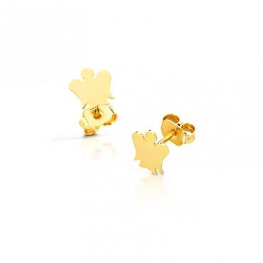 Orecchini da donna Roberto Giannotti a forma di angelo in Oro collezione Angeli - NKT208