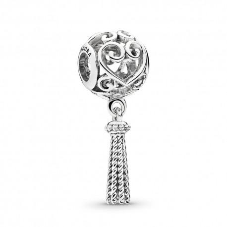 pandora pendente donna argento