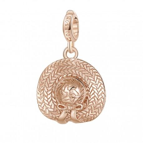 Cappello Charm Rosato in argento 925‰, galvanica oro rosa