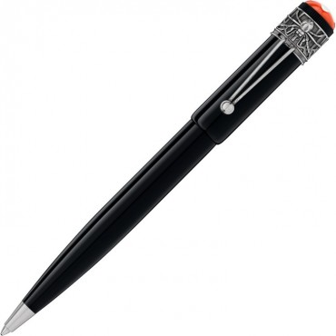 Penna a sfera Unisex Montblanc Heritage Rouge et Noir Spider Metamorphosis Ed. Speciale in Resina colore Nera 117848