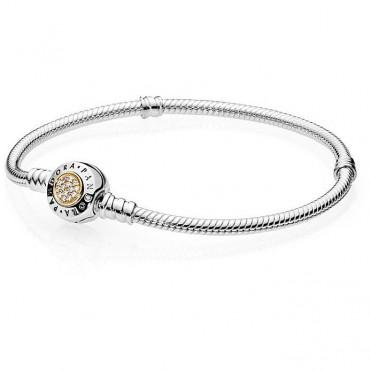 Bracciale Pandora Silver Gold