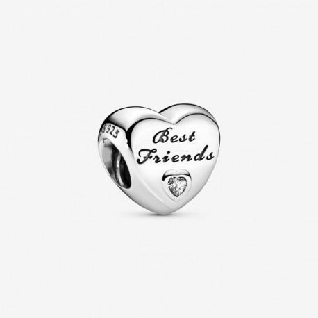 Charm a cuore Migliori amiche  Pandora