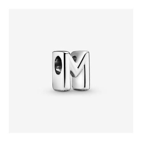 Charm dell'alfabeto lettera M  Pandora