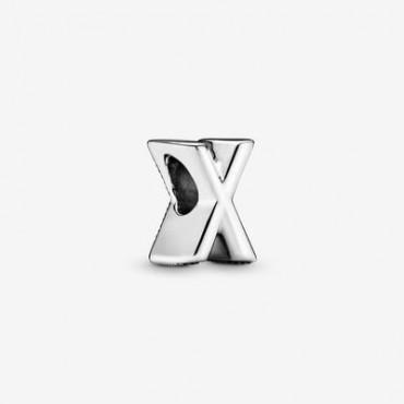 Charm dell'alfabeto lettera X  Pandora