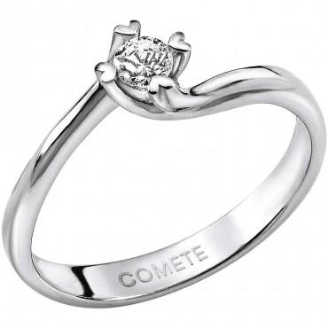 anello donna gioielli Comete Solitario ANB1587