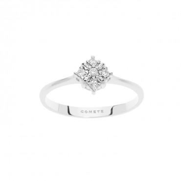 Anello Comete in oro Bianco e Diamanti Collezione Stardust Diamanti P. Ct. 7 Col. ANB2478
