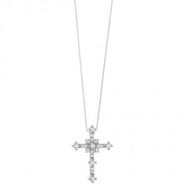 Collana Comete in oro Bianco e Diamanti Collezione Costellation Diamanti P. Ct. 19 Col GLB1496