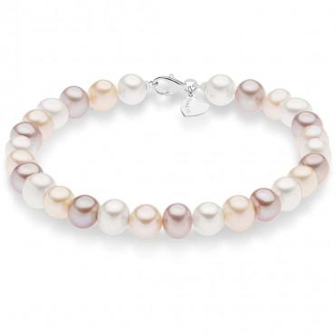 bracciale donna gioielli Comete Perle BRQ298
