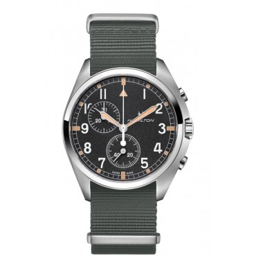 OROLOGIO HAMILTON KHAKI AVIATION PILOT PIONEER CHRONO QUARTZOROLOGI QUARZO41mm H76522931