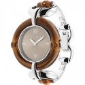 OROLOGIO Bangle Watch, 35mm Brown/ Silver One Size
