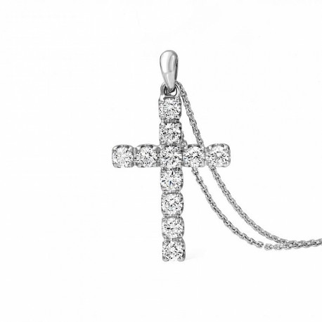 Collana donna Giorgio Visconti Croci con Diamanti  VSG 0,30