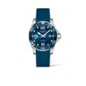 Orologio Longines Uomo Hydro Conquest Automatico cassa da 43mm  in Acciaio quadrante Blu cinturino in Caucciù Blu